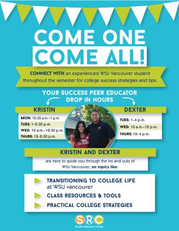 Success Peer Educator flyer