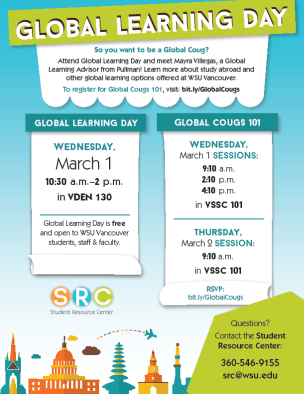 Global Learning Day flyer