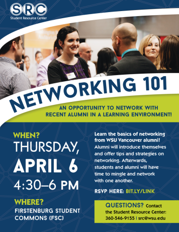 Networking 101 flyer